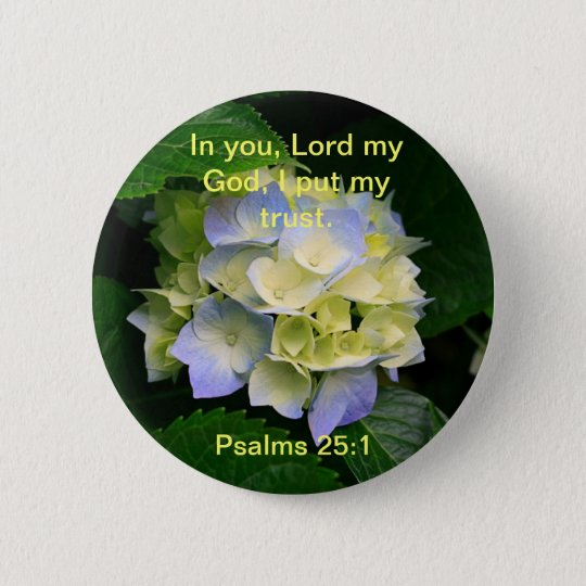 Trusting in God Button