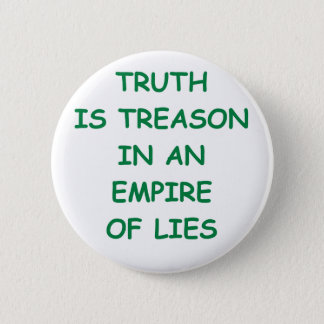truth 6 cm round badge