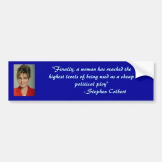 Truth about Palin Bumper Sticker