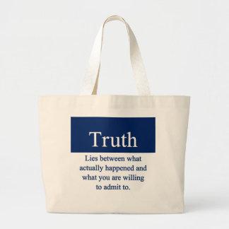 Truth Canvas Bag