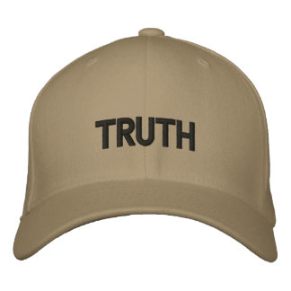 TRUTH EMBROIDERED BASEBALL CAPS