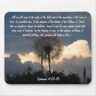 Truth in Love Ephesians 4: 13-15 Mouse Pad