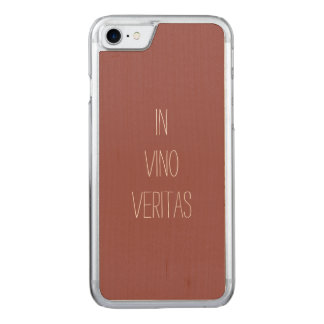 Truth in Wine Carved iPhone 8/7 Case