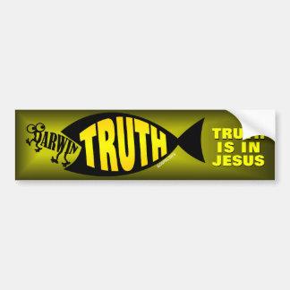 Truth is in Jesus Bumper Stickers
