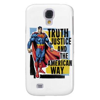 Truth, Justice Galaxy S4 Case