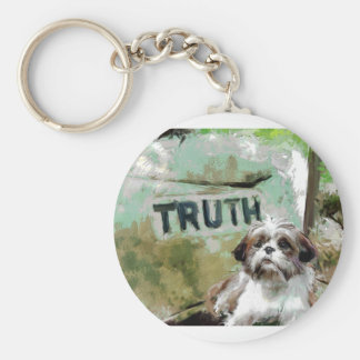 truth needs flexibility. key chains