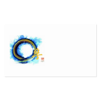 Truth on the Edge of Center, Enso Pack Of Standard Business Cards