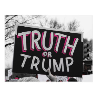 Truth or Trump Postcard