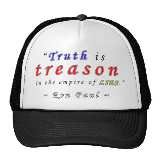 Truth Ron Paul.png Hats