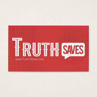 Truth Saves Cards