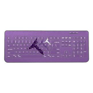 Truth Transcends Translation Purple Keyboard