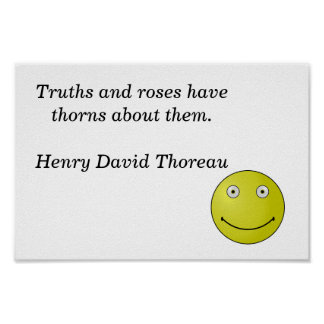 truths and roses poster