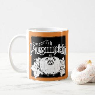 Try a Pugmpkin! Mug