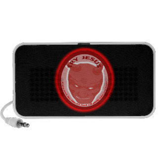 Try Jesus. If you don't like Him the Devil will.. iPhone Speaker