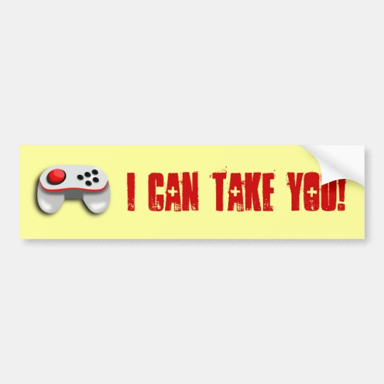 Try Me! Bumper Sticker