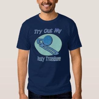 Try Out My Rusty Trombone Dark Shirt