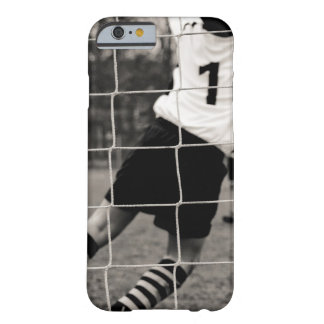 Trying to protect the team with the net in focus barely there iPhone 6 case
