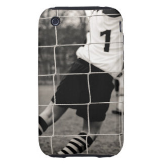 Trying to protect the team with the net in focus iPhone 3 tough case