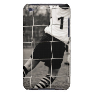 Trying to protect the team with the net in focus iPod touch covers