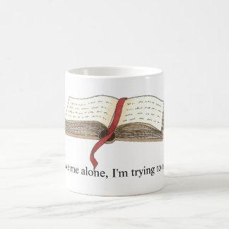 'Trying to Read' Mug