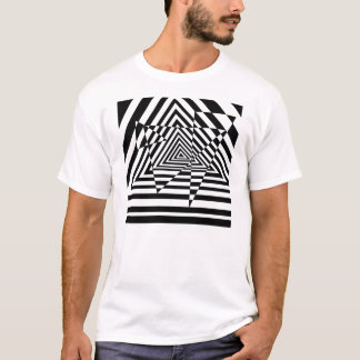 Trying Triangles Casino Illusion T-Shirt