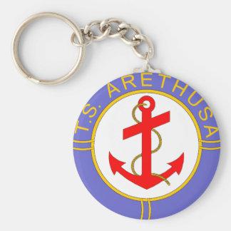 TS Arethusa badge Basic Round Button Key Ring
