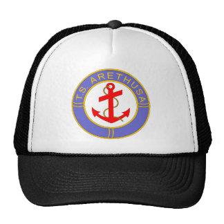 TS Arethusa badge Mesh Hats