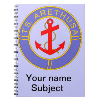 TS Arethusa Badge Notebook