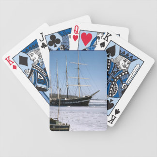 TS Arethusa entrapped in ice Bicycle Playing Cards