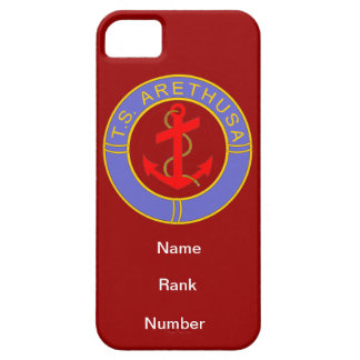 TS Arethusa Name Rank Number Customisable iPhone 5 Case