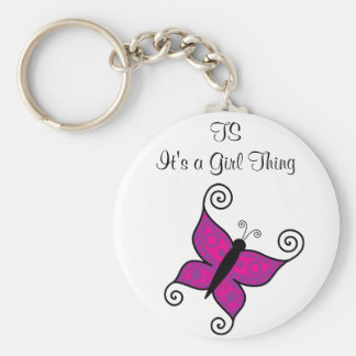 TS- It's a Girl Thing Keychain