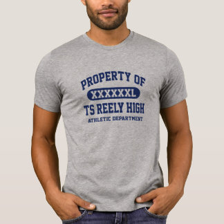 TS Reely High PROPERTY ATHLETIC DEPT Tshirt