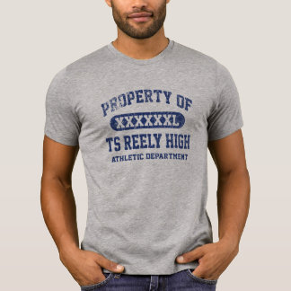 TS Reely High Vintage PROPERTY ATHLETIC DEPT T-Shirt