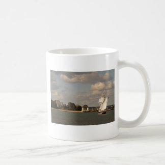 TS Royalist entering Poole Harbour Coffee Mug