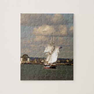 TS Royalist entering Poole Harbour Jigsaw Puzzle