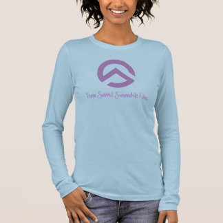 TS Symbol Pink Long Sleeve T-Shirt