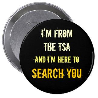 TSA Airport Pat-Down Button