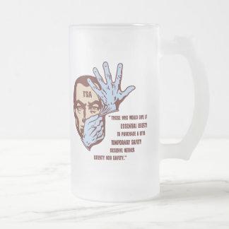 TSA - Essential Liberty Frosted Glass Mug