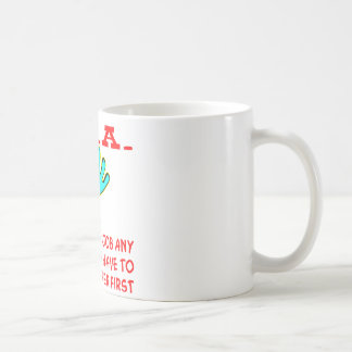 TSA If We Did Our Job Any Better We'd Have To Basic White Mug