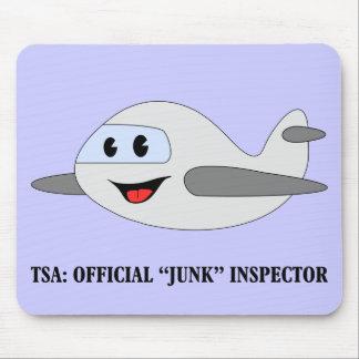 TSA Official Junk Inspector Mouse Pad