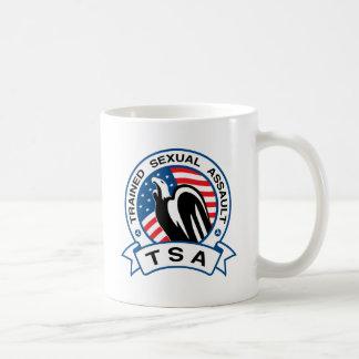 TSA Trained Sexual Assault Basic White Mug