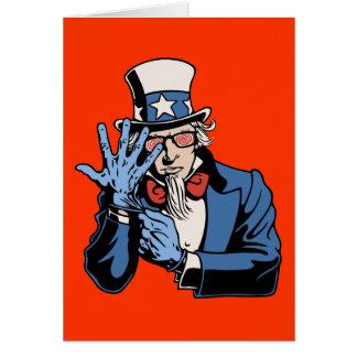 TSA- Uncle Sam Greeting Card