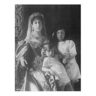 Tsar - GRAND DUCHESS VICTORIA MELITA #120 Postcard