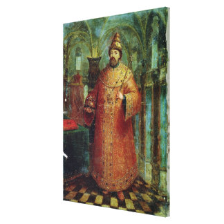 Tsar Ivan Alexeevich V Canvas Print