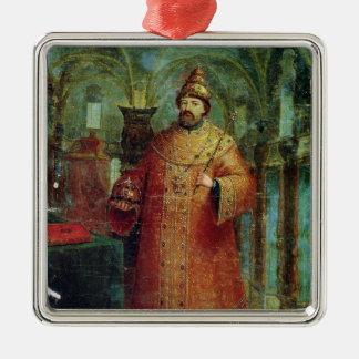 Tsar Ivan Alexeevich V Christmas Ornament