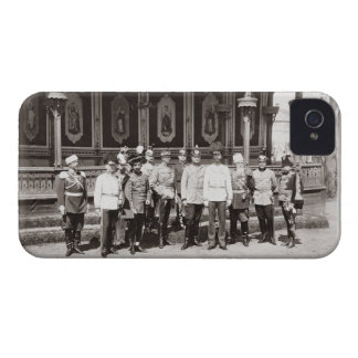 Tsar Nicholas II (1868-1918) standing in the garde Case-Mate iPhone 4 Cases