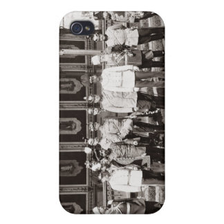 Tsar Nicholas II (1868-1918) standing in the garde iPhone 4 Covers