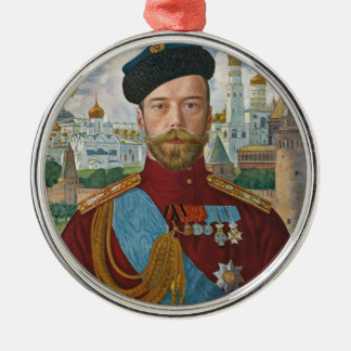 Tsar Nicholas II Christmas Ornament