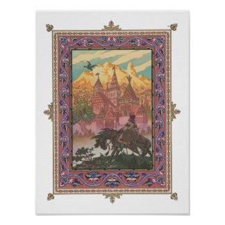 Tsarevich Ivan at the Castle of the Falcon Poster