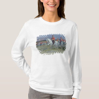 Tsarevich Nicolas  Reviewing the Troops, 1899 T-Shirt